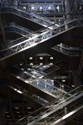 Inside the Lloyds Building #6