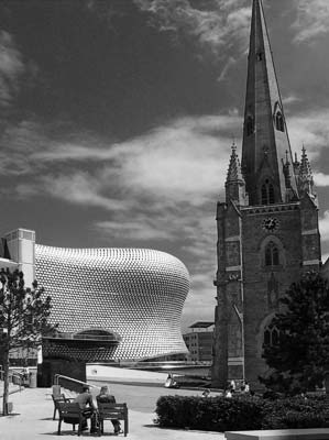 The Bullring Shopping Centre #9 (B&W)