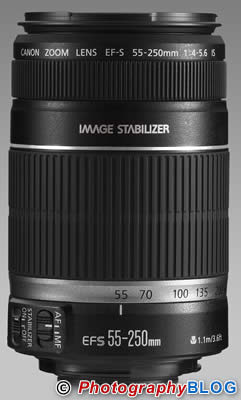 Canon EF-S 55-250mm f/4-5.6 IS