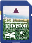 Kingston 4Gb SDHC