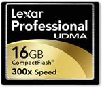 Lexar Professional UDMA 300x 16GB CompactFlash