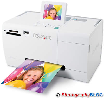 Lexmark P350 Portable Photo Printer