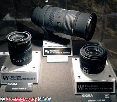 Sima Four Thirds Lenses