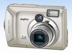 Sanyo Xacti DSC-S5
