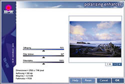 Schneider  B+W Digital Filter Software
