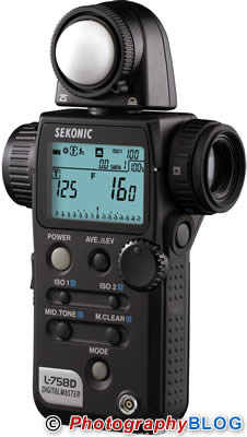 Sekonic Digital Master L-758 Light Meter