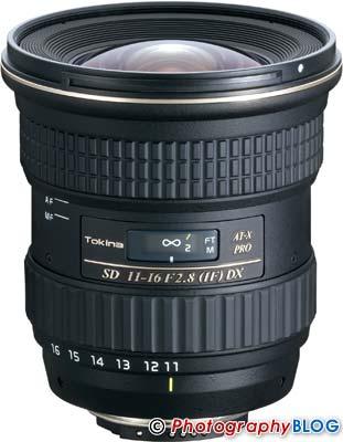 Tokina ATX 11-16mm F2.8 PRO DX