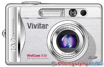Vivitar ViviCam X30