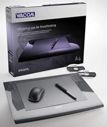 Wacom Intuos3 A4 Pen Tablet