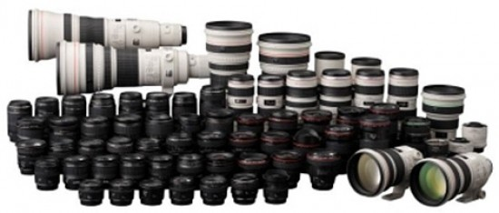 canon ef lenses manufacturing