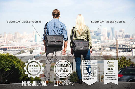 0d9122e376 Peak Design have unveiled The Everyday Messenger 13 camera bag. The new  compact bag promises to deliver the same design and functionality as the  original ...