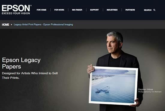 Epson Launches New Legacy Textured Paper | Photography Blog