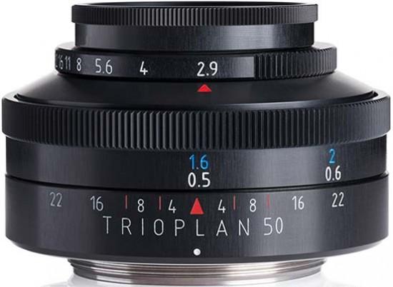 Meyer-Optik-Goerlitz Trioplan 50mm f/2 9 Review
