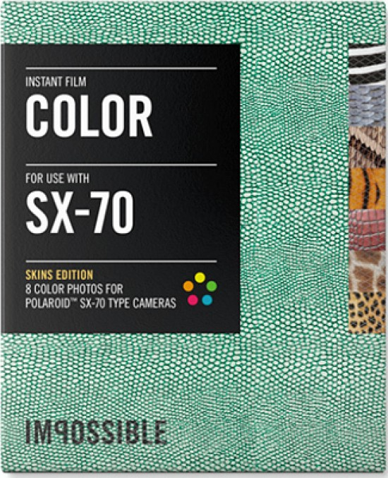 The Impossible Project has released a new Special Edition Color SX-70 Skins  instant film for Polaroid SX-70 cameras. The film features frames patterned  with ... 4d9ff17c800