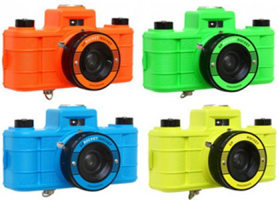 Sprocket Rocket Camera : Lomography introduces sprocket rocket superpop photography