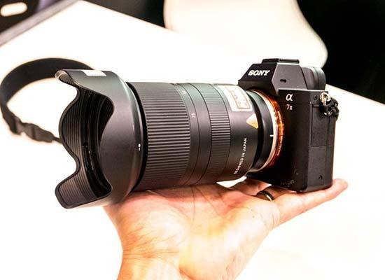 c217402ed16 Want to see exactly what the new Tamron 28-75mm F 2.8 Di III RXD lens looks  like in the flesh