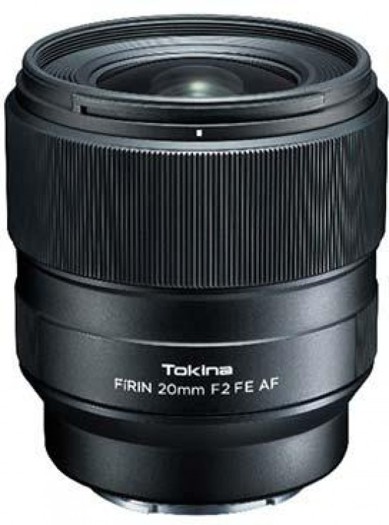c252adf0586 The Tokina FiRIN 20mm F2 FE AF is an auto-focus version of the existing  FiRIN 20mm F2 FE super wide angle lens for full-frame Sony E-mount.