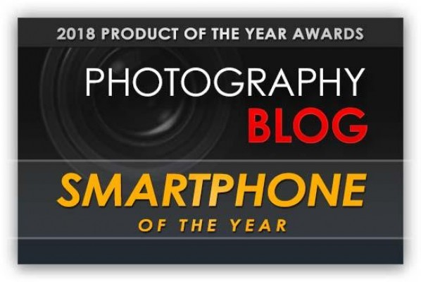 Photography Blog Smartphone of the Year Award 2018