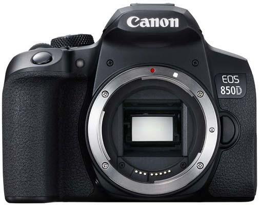 Canon EOS 850D DSLR Camera, 24 Megapixels, 7fps Burst Shooting, 4K Video