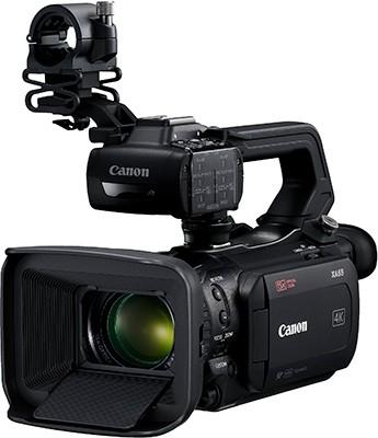 Canon XA55, XA50 and XA40 4K UHD Camcorders