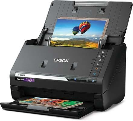 Epson FastFoto FF-680W Scans One Photo Every Second
