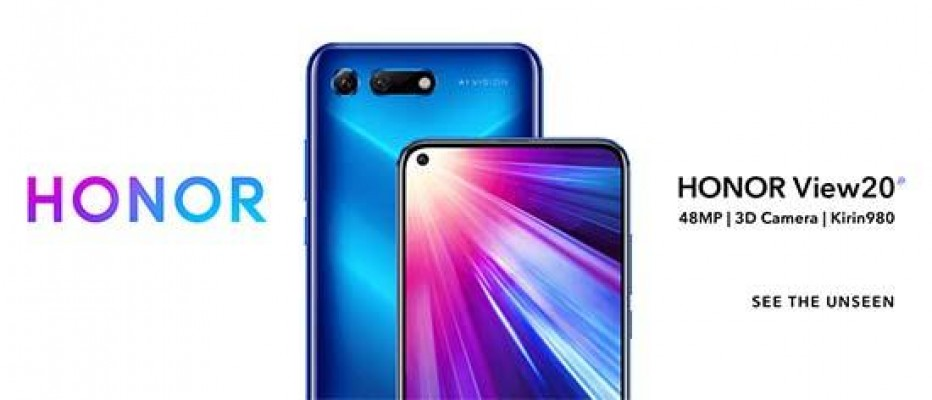 Honor View20, World's First 48 Megapixel Smartphone