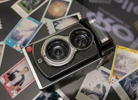 Rolleiflex Instant Kamera Hands-on Photos