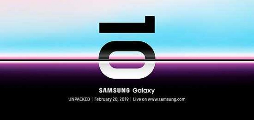 Samsung Galaxy 10 on February 20th