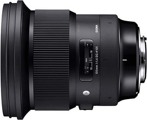 Sigma 105mm F1.4 DG HSM Review