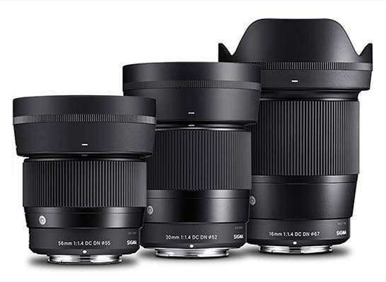 Sigma 16mm, 30mm, and 56mm F1.4 DC DN Lenses for Canon EF-M Mirrorless Cameras | Photography Blog