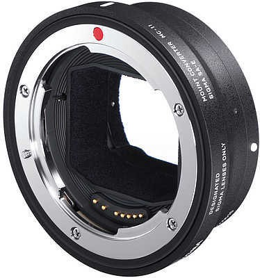 Sigma Mount Converter MC-11 Firmware Update