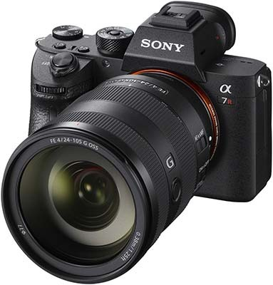 sony a7r iii compact system 42 megapixels 10fps burst shooting 15 stops dynamic range