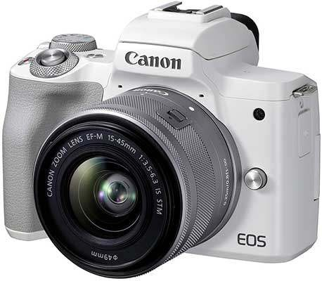 Canon EOS M50 Mark II Now Available in UK, Europe and Australia