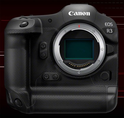 Flagship Canon EOS R3 Mirrorless Camera Offers 24 Megapixels, 6K/60p Video, 30fps Burst Shooting and Eye Control Autofocus
