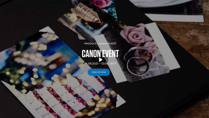 Canon Product Launch Event on 14th September 2021