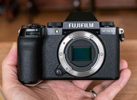 Fujifilm X-S10 Hands-on Photos