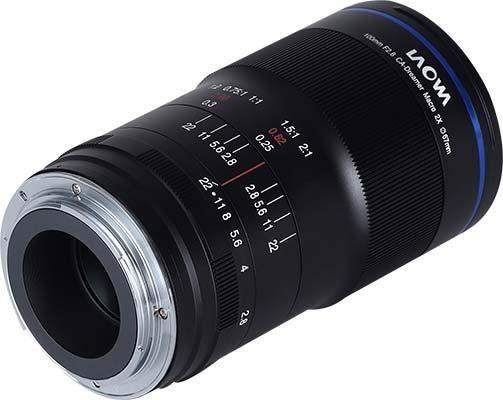 Laowa 100mm f/2.8 2x Ultra Macro APO for Canon EF-mount and Pentax K-mount