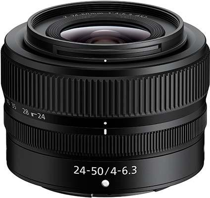 NIKKOR Z 24-50mm f/4-6.3 Kit Lens for Nikon Z5
