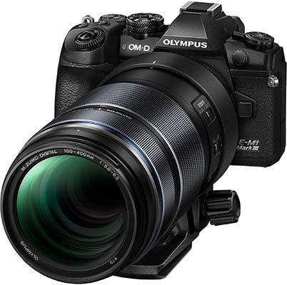 Olympus M.Zuiko Digital ED 100-400mm F5.0-6.3 IS Super-telephoto Zoom Lens
