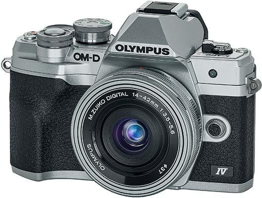 Olympus OM-D E-M10 Mark IV 20 Megapixel Mirrorless Camera