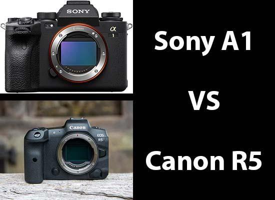 Sony A1 vs Canon R5 - Head-to-head Comparison