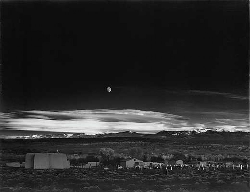 ansel adams print sells for  221k at auction