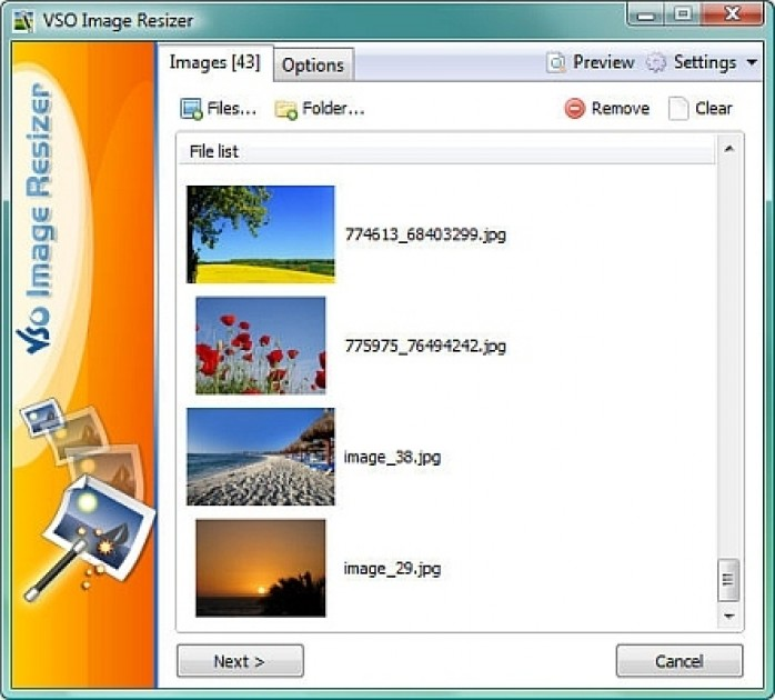 Image resizer