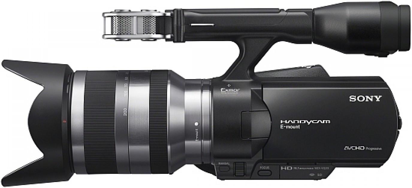 Sony Full Frame Lenses >> Sony Handycam NEX-VG20E | Photography Blog