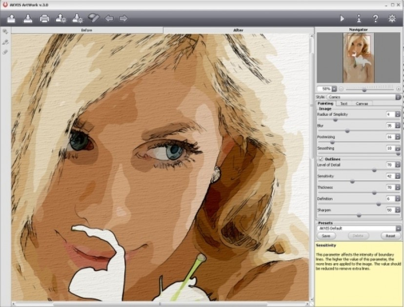 Как из фотографии сделать картину красками