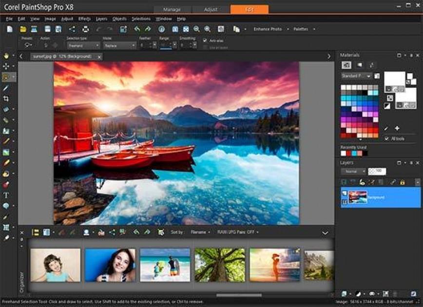 Corel Paintshop Pro X8 Review Photography Blog
