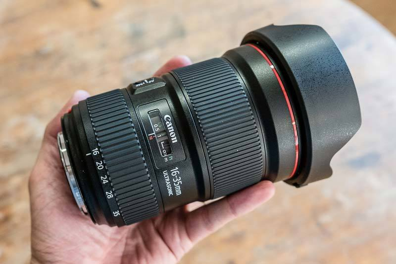 Canon EF 16-35mm f/2.8L III USM Hands-on Photos ...