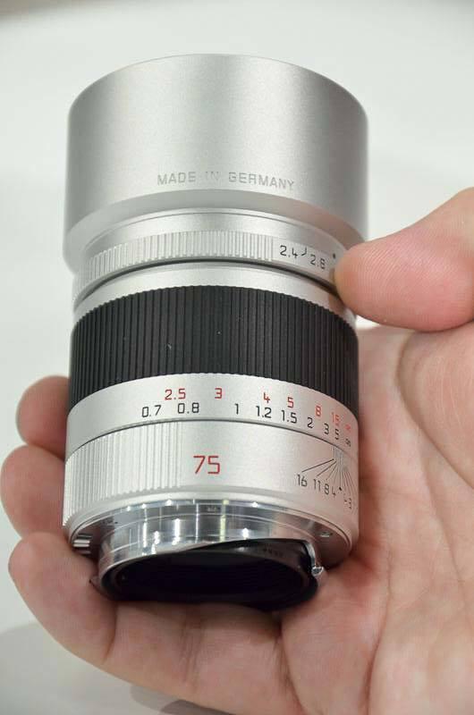 Leica SUMMARIT-M 75mm/f2.4 ASPH Hands-on Photos | Photography Blog