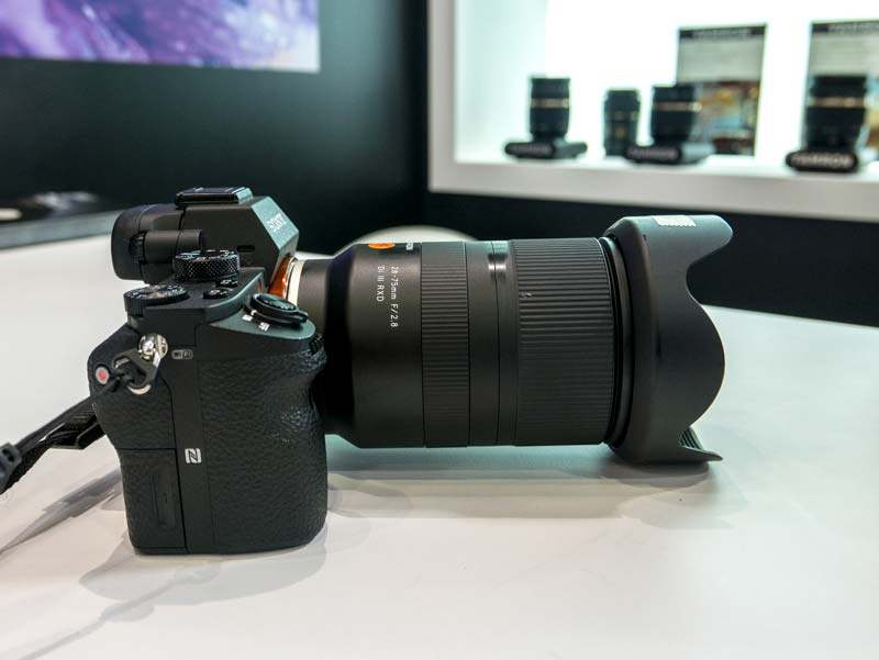 Tamron 28 75mm F 2 8 Di Iii Rxd Hands On Photos